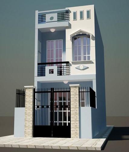 10 mẫu nhà phố không bao giờ lỗi thời - Ảnh 6.