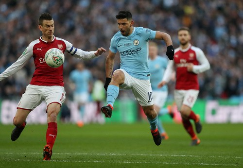 Sao dự bị Man City tỏa sáng, Pep đoạt danh hiệu nước Anh đầu tiên - Ảnh 3.