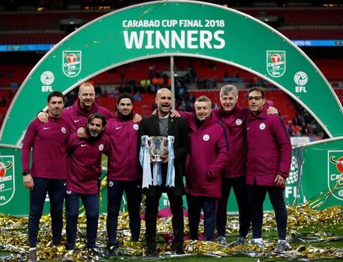 Sao dự bị Man City tỏa sáng, Pep đoạt danh hiệu nước Anh đầu tiên - Ảnh 7.