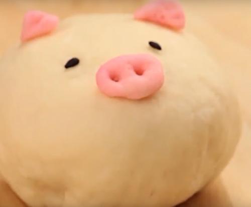 Bánh bao heo con siêu dễ thương - Ảnh 8.