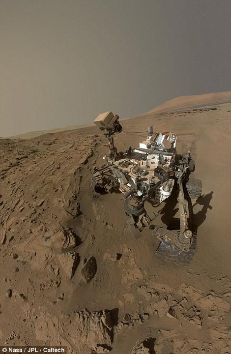 Độc đáo ảnh tự sướng trên… Sao Hỏa - Ảnh 3.