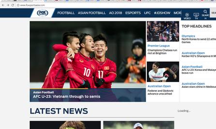 Báo chí quốc tế ca ngợi tinh thần thép U23 Việt Nam - Ảnh 1.