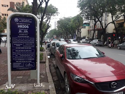 Hà Nội tăng giá giữ xe - Ảnh 1.