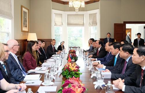 Việt Nam - New Zealand hướng tới đối tác chiến lược - Ảnh 1.