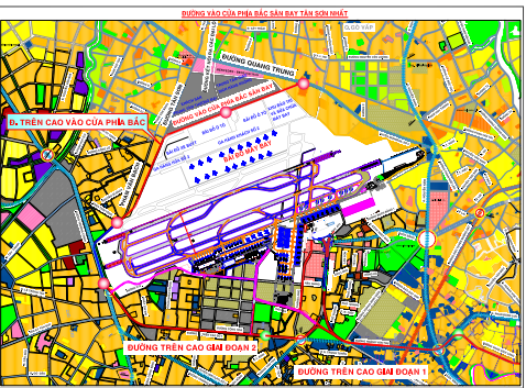 Đề xuất xây dựng đường trên cao nối Tân Sơn Nhất - Ảnh 1.