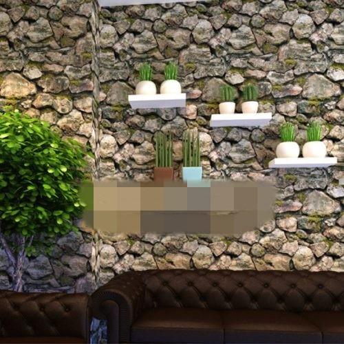 10 mẫu giấy dán tường giả đá 3D chinh phục mọi thị giác - Ảnh 10.
