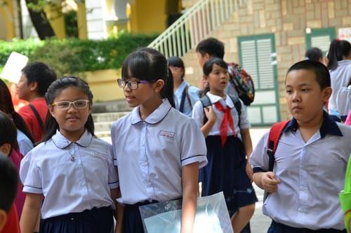 Tuyển sinh đầu cấp: Các trường muốn tổ chức khảo sát - Ảnh 1.