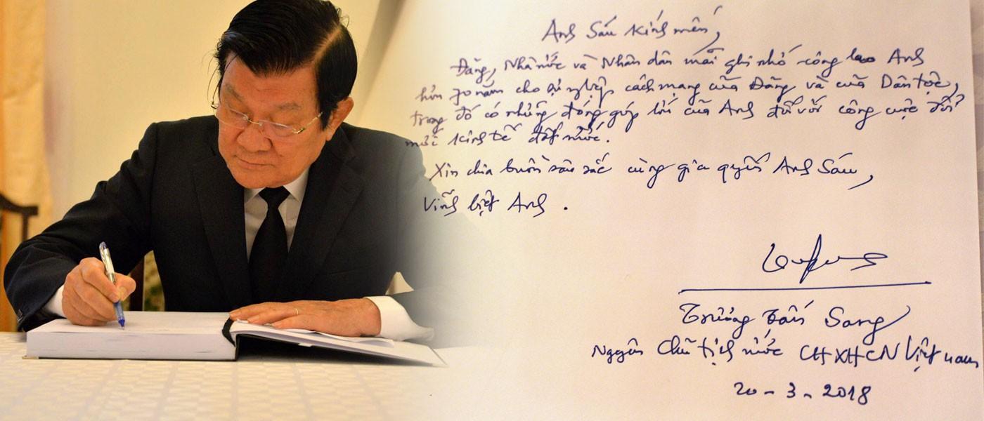 Lãnh đạo Đảng, nhà nước tiễn biệt nguyên Thủ tướng Phan Văn Khải - Ảnh 10.