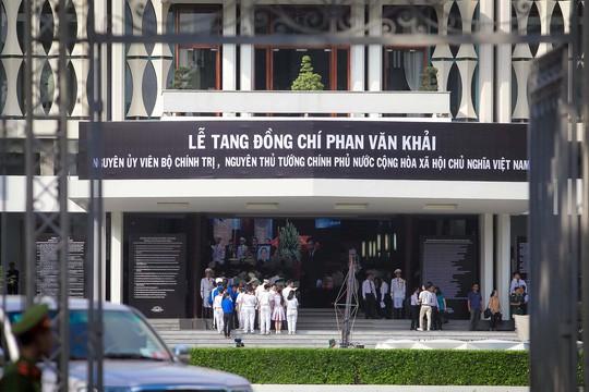 Lãnh đạo Đảng, Chính phủ, Quốc hội viếng nguyên Thủ tướng Phan Văn Khải - Ảnh 10.