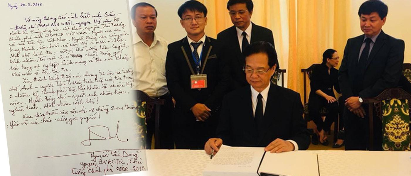 Lãnh đạo Đảng, nhà nước tiễn biệt nguyên Thủ tướng Phan Văn Khải - Ảnh 11.