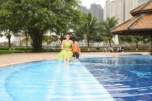 Bên trong dinh thự hơn 400 tỉ của Hoa hậu Hà Kiều Anh - Ảnh 14.