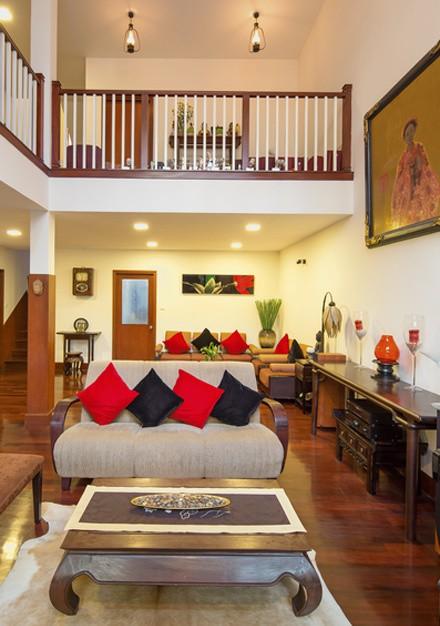 Không gian sống đẹp như resort của ca sĩ Quang Dũng - Ảnh 3.