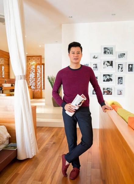 Không gian sống đẹp như resort của ca sĩ Quang Dũng - Ảnh 5.