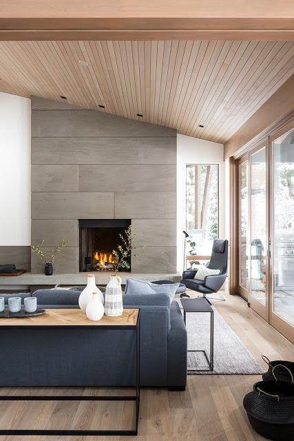 Thiết kế trần gỗ cho ngôi nhà bừng sáng  - Ảnh 3.