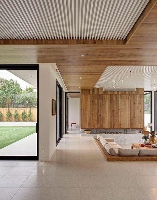 Thiết kế trần gỗ cho ngôi nhà bừng sáng  - Ảnh 7.