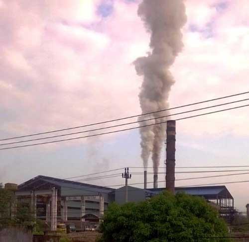 Niêm phong nhà máy đường gây ô nhiễm môi trường - Ảnh 1.