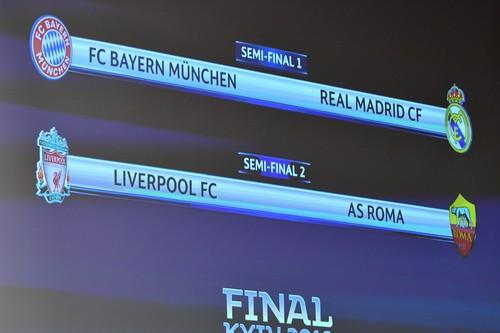 Bayern Munich chạm trán Real Madrid, AS Roma đối đầu Liverpool - Ảnh 3.