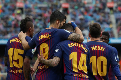 Chia tay sớm Champions League, Barcelona lập kỷ lục La Liga - Ảnh 6.
