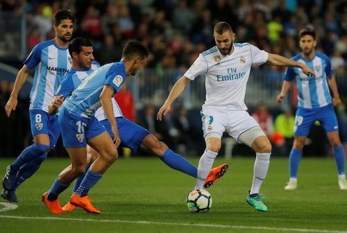 Thắng dễ Malaga, Real Madrid trở lại tốp đầu La Liga - Ảnh 2.