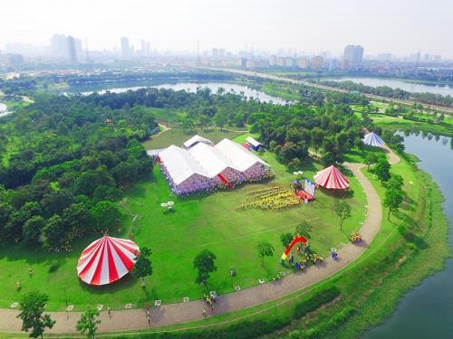 Những khu dã ngoại thú vị nằm ngay sát Hà Nội dịp nghỉ lễ - Ảnh 4.