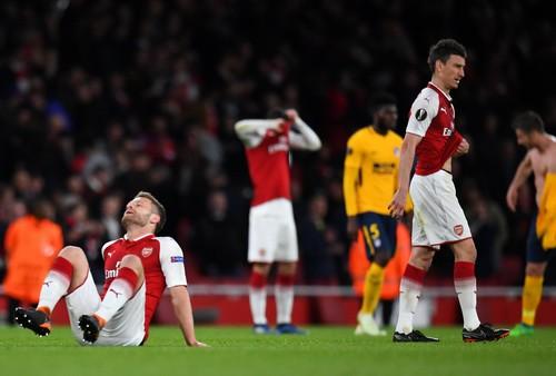 Đánh rơi chiến thắng trước Atletico, Arsenal khó mơ Europa League - Ảnh 7.