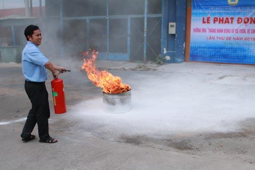 Chủ động ngăn ngừa tai nạn lao động, cháy nổ