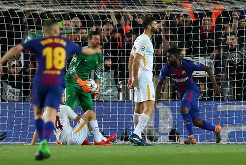 Bi kịch đá phản, AS Roma gục ngã trước Barcelona - Ảnh 3.