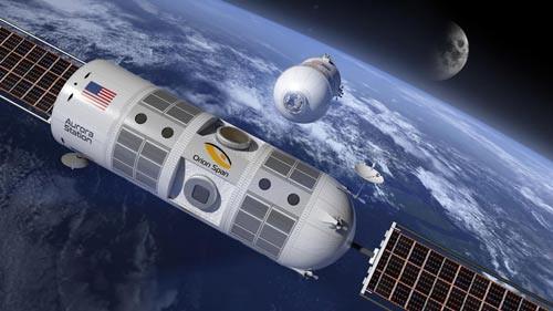 Khách sạn vũ trụ treo giá gần 800.000 USD/đêm - Ảnh 1.