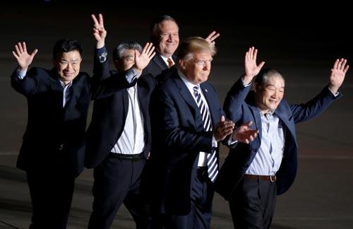 Ông Trump cược lớn với Triều Tiên - Ảnh 1.