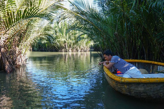 Khu rừng dừa như miền Tây sông nước tại Hội An - Ảnh 7.