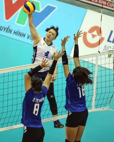 VTV Bình Điền Long An đoạt vé đầu tiên vào bán kết - Ảnh 2.