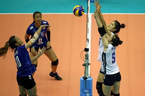 VTV Bình Điền Long An đoạt vé đầu tiên vào bán kết - Ảnh 1.