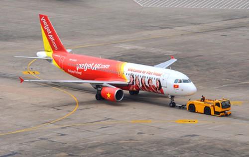 Chuyến bay VJ627 chở 213 hành khách phải quay đầu sau 30 phút cất cánh vì cả 2 động cơ tăng nhiệt tới hạn. Ảnh minh hoạ