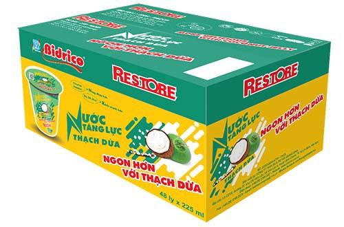 Bidrico tung nước tăng lực có thạch dừa - Ảnh 3.