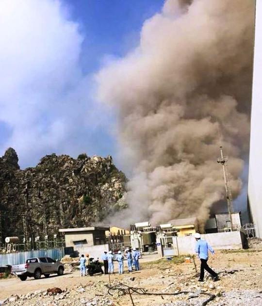 Cháy lớn ở Nhà máy Xi măng Xuân Thành Quảng Nam - Ảnh 3.