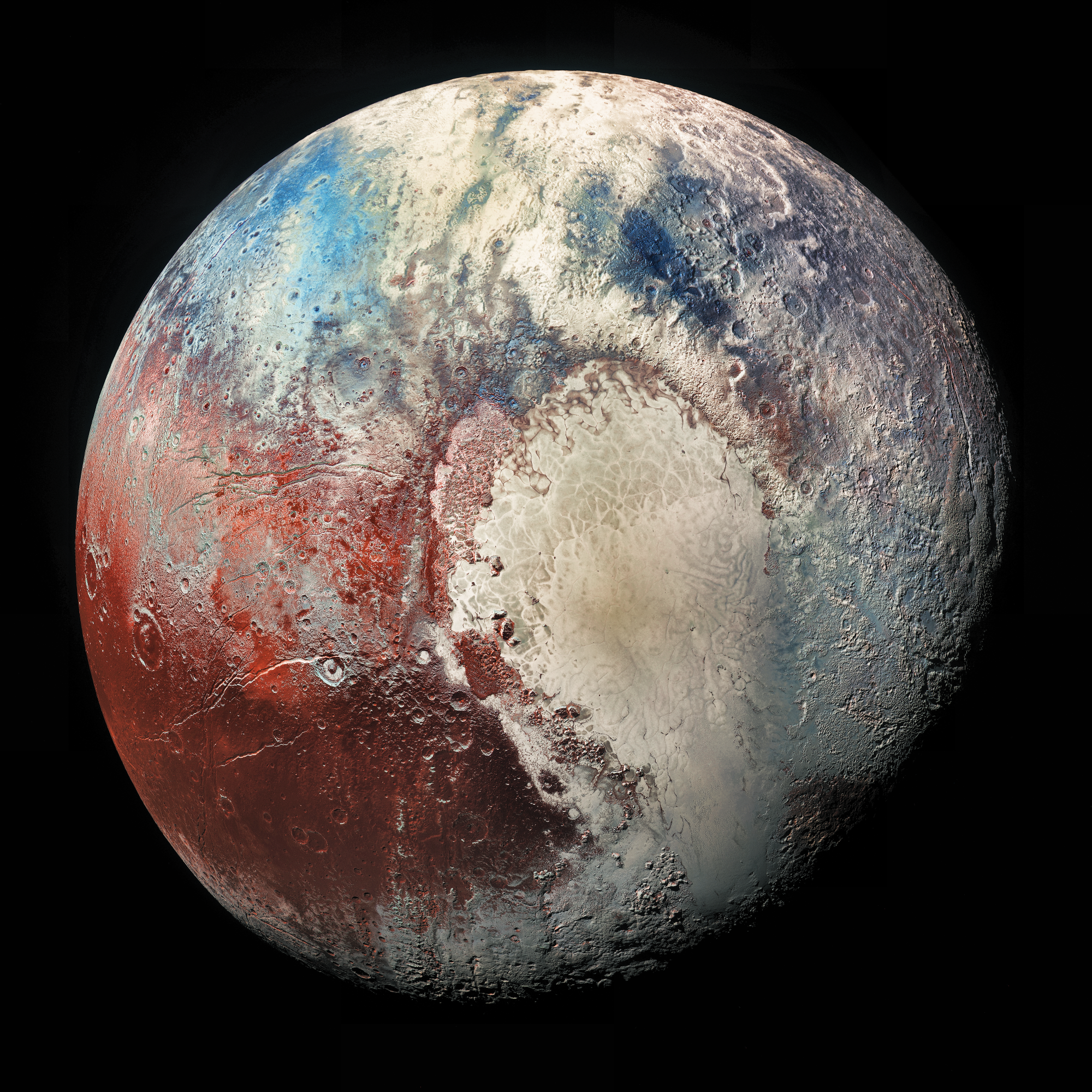 pluto planet images - 760×847