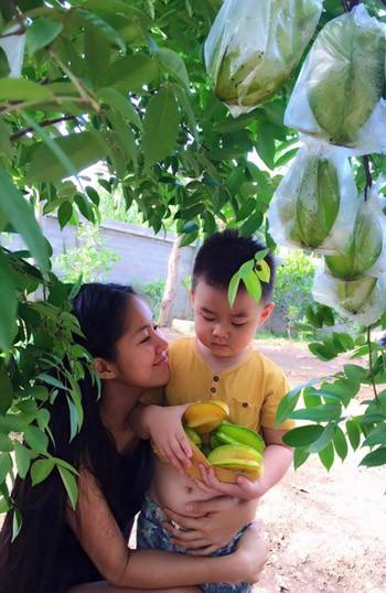 Phát thèm khu vườn sai trĩu quả của diễn viên Lê Phương - Ảnh 7.
