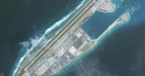 Mỹ soi tên lửa Trung Quốc ở biển Đông - Ảnh 1.