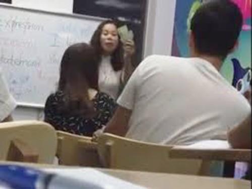 Nữ giáo viên mắng học viên óc lợn: Cứ chửi tôi cho đến khi không còn sức chửi - Ảnh 1.