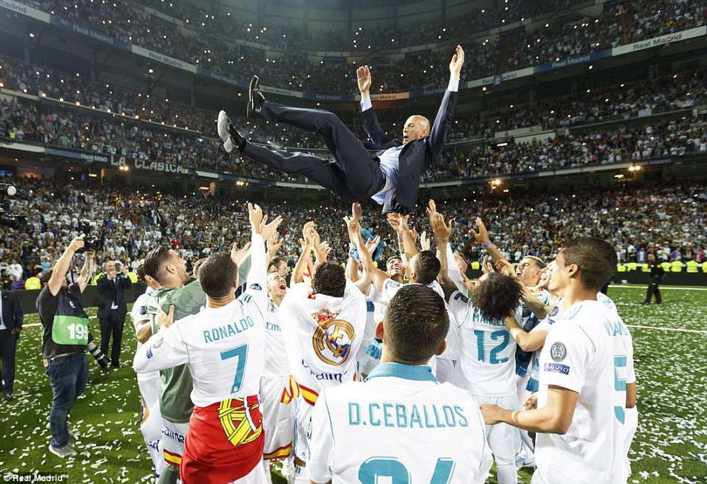 Zinedine Zidane: Lịch sử Real Madrid gọi tên - Ảnh 1.