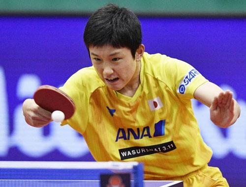 Thần đồng bóng bàn Nhật Bản gây sốc Trung Quốc - Ảnh 1.