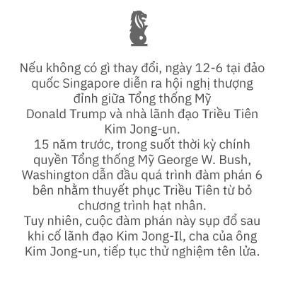 (eMagazine) - Thượng đỉnh Mỹ - Triều: Những tay chơi trên bàn cược lớn - Ảnh 1.
