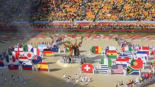 Khai mạc World Cup 2018: Sắc màu và âm nhạc - Ảnh 1.