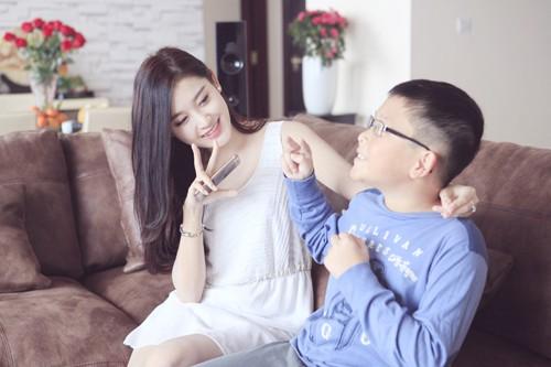 Chung cư tiền tỷ của gia đình Á hậu Huyền My - Ảnh 1.