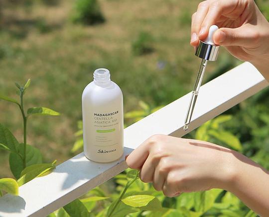 Phục hồi làn da với ampoule rau má trị mụn và làm mờ thâm - Ảnh 1.
