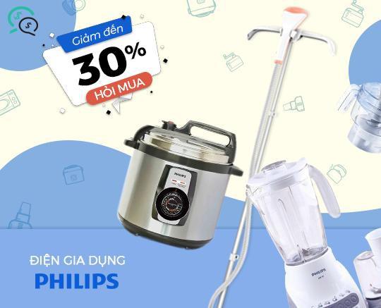 Điện gia dụng Philips giảm đến 30% trên Hago.me - Ảnh 3.