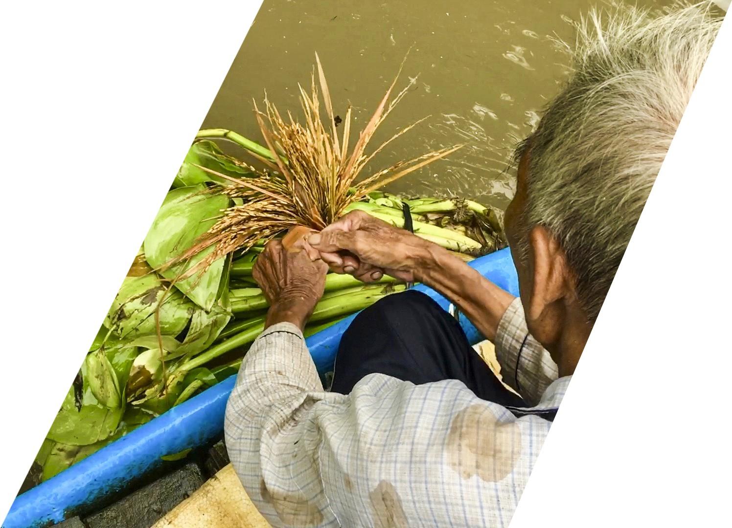 """(eMagazine) - Cách bắt cá """"dị thường"""" của lão nông miền Tây - Ảnh 4."""