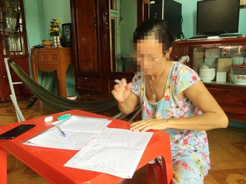 Công an xác định bà trùm ở Cần Giờ đánh người để đòi nợ - Ảnh 1.