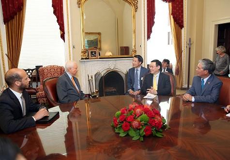 Tổng thống Donald Trump muốn thúc đẩy quan hệ Mỹ-Việt Nam - Ảnh 1.