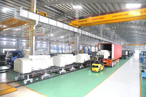 Thaco xuất khẩu bồn nhiên liệu 3.000 lít sang Hàn Quốc - Ảnh 1.